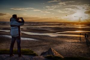 Sunset Terschelling -  JA036076 (HDR)