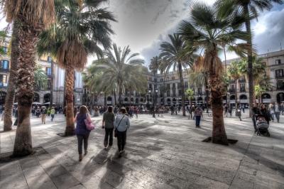 Plaza del Rey Barcelona - JA028417 (HDR)