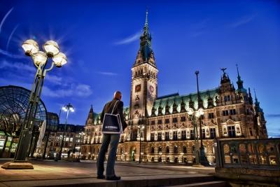 Hamburg Rathaus - JA018779 (HDR)