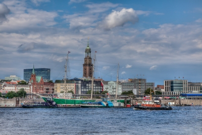 Hamburg Hafen - JA029341 (HDR)
