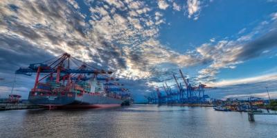 Panorama Hafen Hamburg -  JA029546 (HDR)