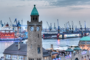 Panorama Hamburg Blue Port 2014 - JA032141 (HDR)