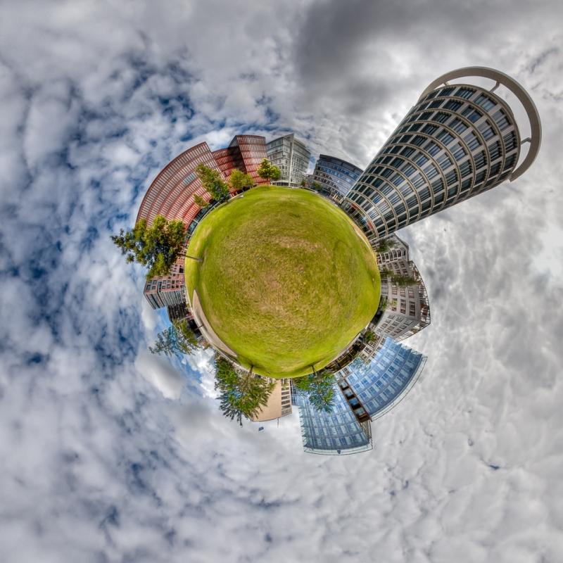 Little Planet Hamburg Hafen City - JA031669 (HDR)