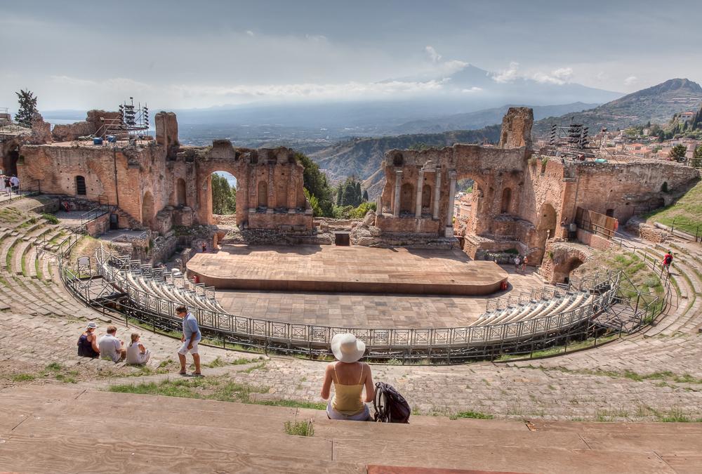 Taormina, Sizilien - JA029700 (HDR)