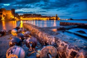 Nightfall in Collioure - JA037094(HDR)
