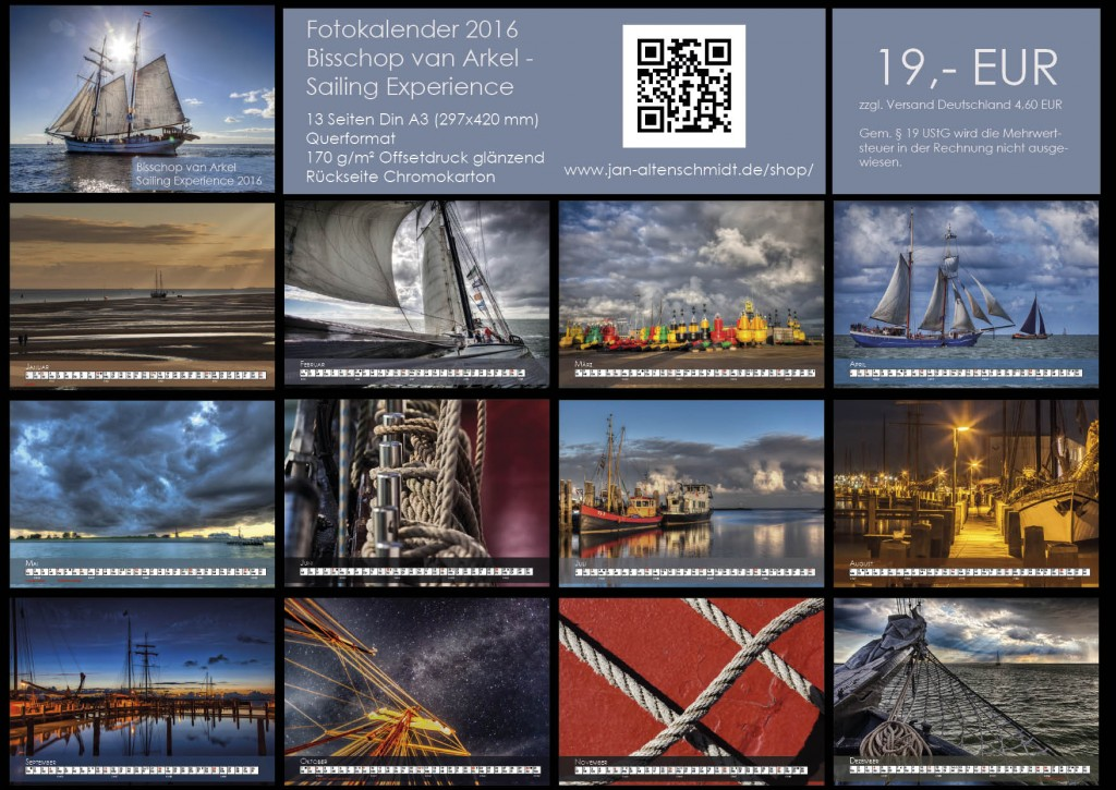 Bisschop van Arkel - Fotokalender 2016