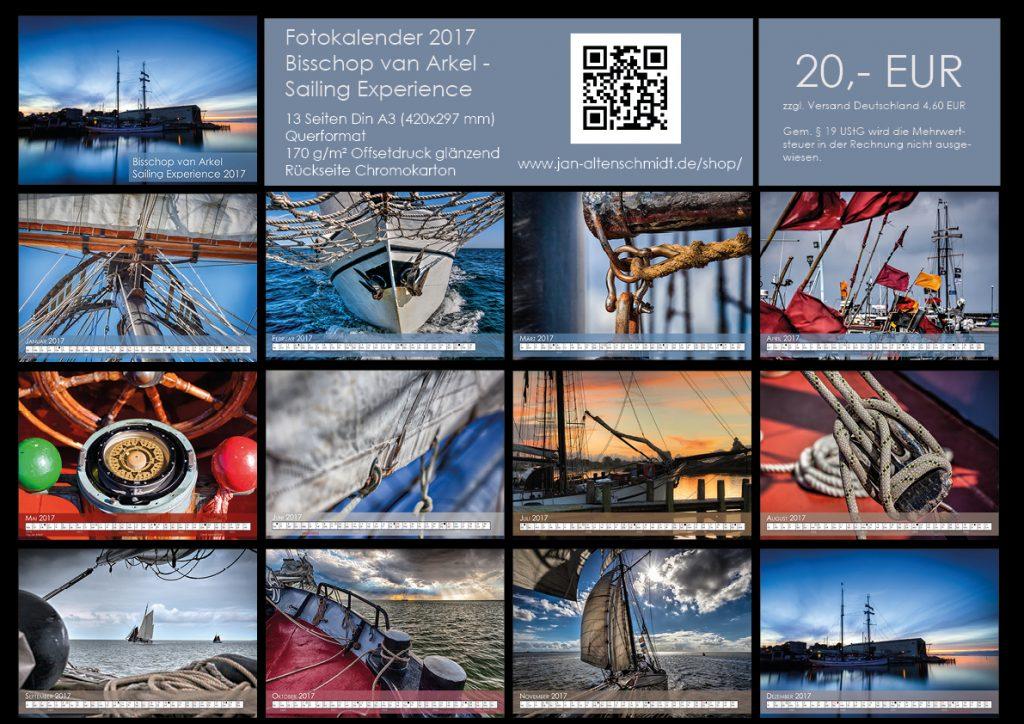 Bisshop van Arkel Kalender 2017 Vorschau